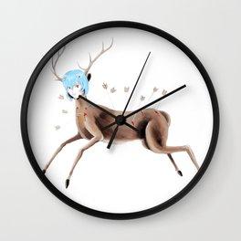 Rei Kahlo Wall Clock