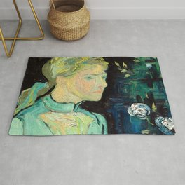 Vincent van Gogh - Adeline Ravoux 1890 Rug
