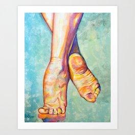 Finding Balance Art Print