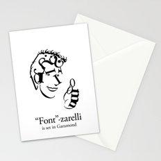 'Font'-zarelli Stationery Cards