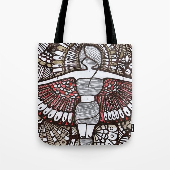 Freedom Feeling Tote Bag