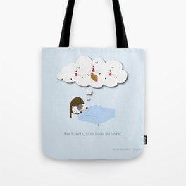 Abre tu mente, quizás no sea una locura… Tote Bag
