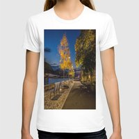 pittsburgh T-shirts featuring PITTSBURGH FALL by Stephanie Bosworth