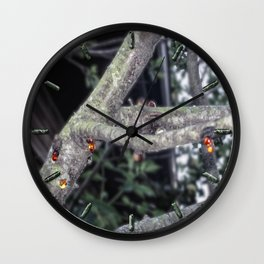 Bleeding Tree Wall Clock