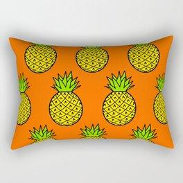 Tropical Pineapple Pattern Rectangular Pillow