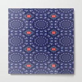 Vibrational Pattern 11 Metal Print