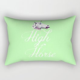"""Get on your High Horse"" Rectangular Pillow"