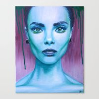 cara Canvas Prints featuring Cara by Stella Joy