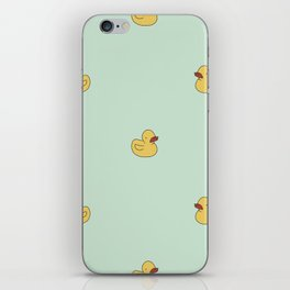 Rubber Duckies iPhone Skin