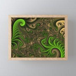 Fantasy World II, Abstract Fractal Art Framed Mini Art Print