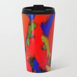 Alligator red glow Travel Mug
