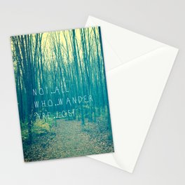 Wander in the Woods Stationery Cards