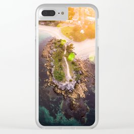 Mosman Island Clear iPhone Case