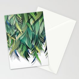 """Spring Forest of Surreal Leaf"" Stationery Cards"