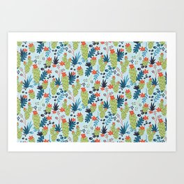 Enchanted Desert Art Print