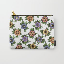traditional flowers Carry-All Pouch