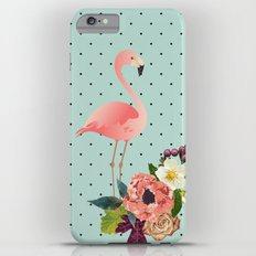 Flamingo de Outono Slim Case iPhone 6s Plus