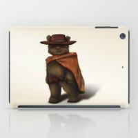 clint barton iPad Cases featuring Clint Ewok by Kirye