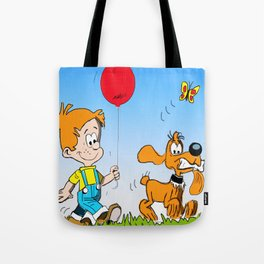 Boule and Bill Tote Bag