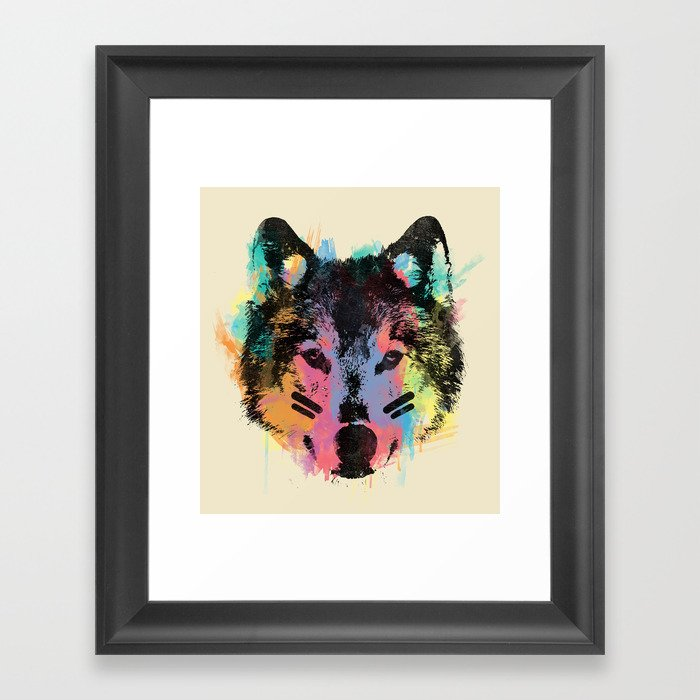Wolf Child Framed Art Print