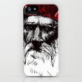 Old Saint Nick iPhone Case