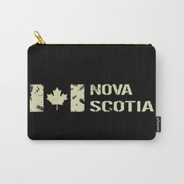 Canadian Flag: Nova Scotia Carry-All Pouch