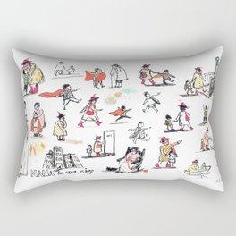 NANA character studies Rectangular Pillow