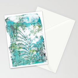 Feathered wall Stationery Cards