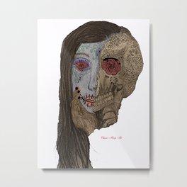Día de Muertos Metal Print