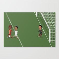 Drogba's backheel goal Canvas Print