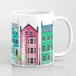 London Row Houses Coffee Mug