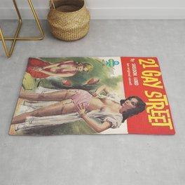 21 Gay Street (Lesbian Sexploitation) Rug