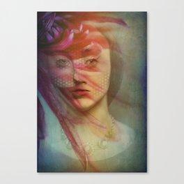 Last century woman Canvas Print