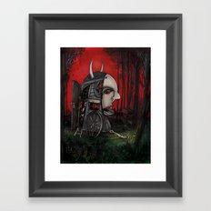 The Horseless Headsman Framed Art Print