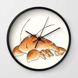 Lobster Roll Wall Clock