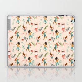 Central Park Workout #illustration #pattern #womensday Laptop & iPad Skin