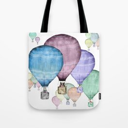 Balloons and animals! Tote Bag