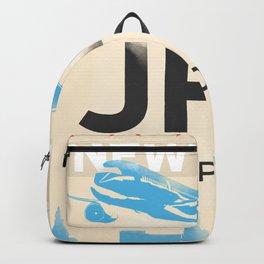 JFK stylish airport code Backpack