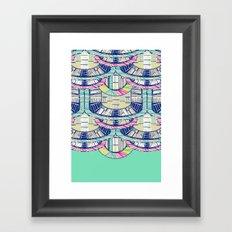 MARFA LIGHT Framed Art Print