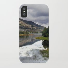lakeside in norway. iPhone Case
