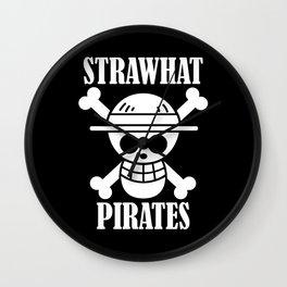 straw hat pirates Wall Clock