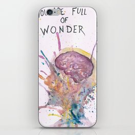 You Are Full of Wonder iPhone Skin