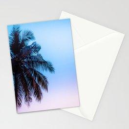 palms sunset Stationery Cards