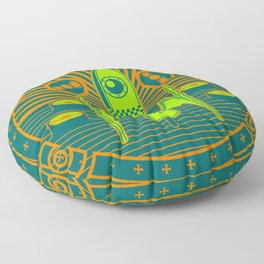 Kosmos 61 Floor Pillow