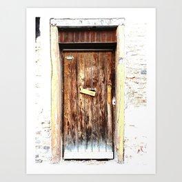 The Door 5 Art Print