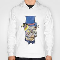 pitbull Hoodies featuring Fancy Pitbull by Animal Camp