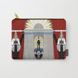 """The Egyptian"" Art Deco Illustration by Erté Carry-All Pouch"