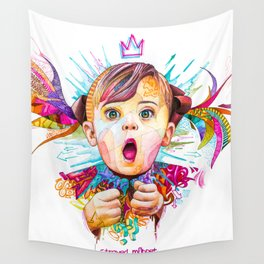 Baby girl Wall Tapestry