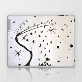 Tribute to Miguel Hernandez #2 Laptop & iPad Skin