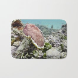 Red Nudibranch Bath Mat